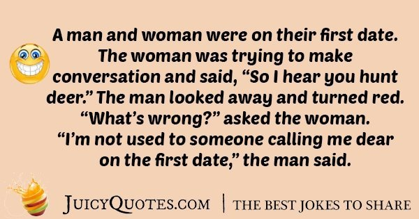 Date to first tell jokes 79+ Date