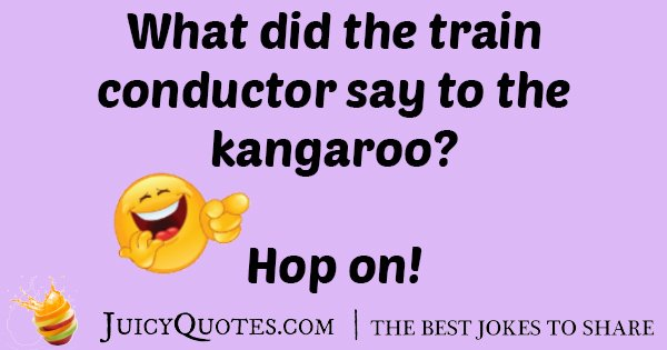 Train Conductor Joke