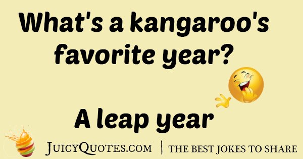 Kangaroo Year Jokes