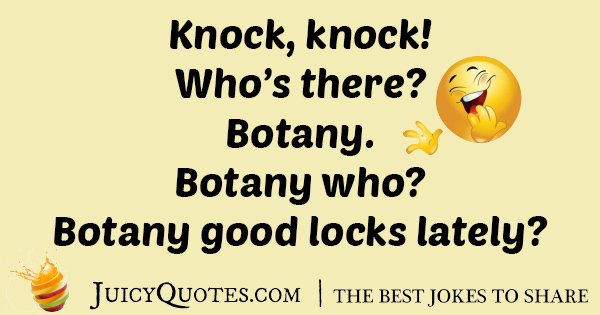 Key Botany Joke