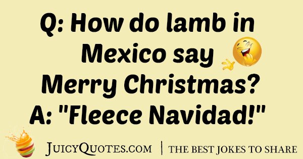 Lamb In Mexico Joke